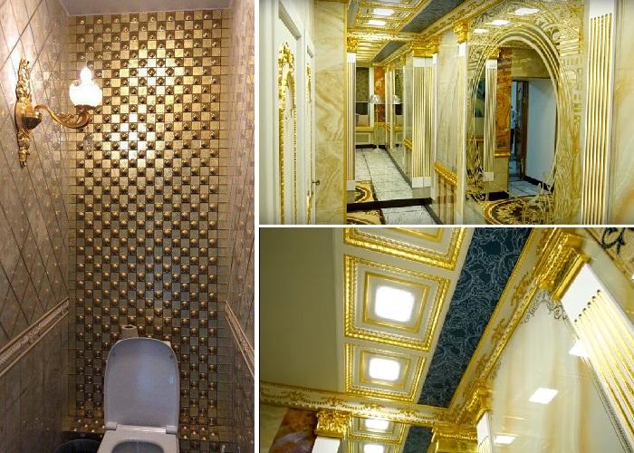 В Уральском университете появился «золотой» туалет (Екатеринбург).