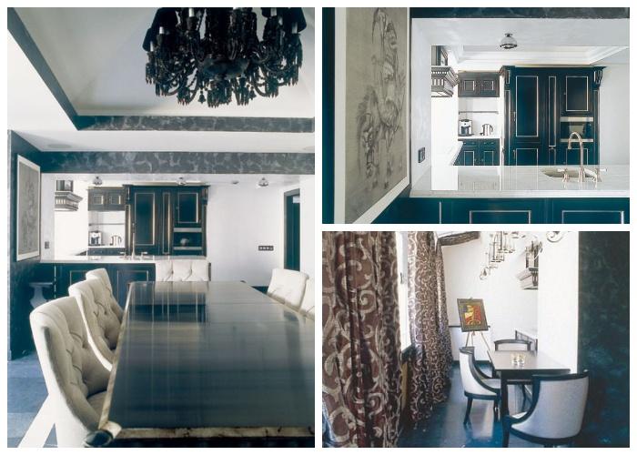 Кухня в квартире ГлюкoZы в Санкт-Петербурге.