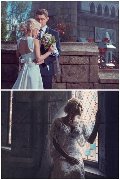 «Замок Гарибальди» стал излюбленным местом для проведения свадебных фотосессий (с. Хрящевка, Самарская область). | Фото: garibaldicastle.com.