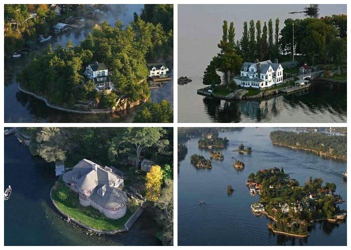 Все острова, имеющие площадь больше 300 кв. километров заселены людьми (Архипелаг «Тысяча островов»). | Фото: relaxic.net.