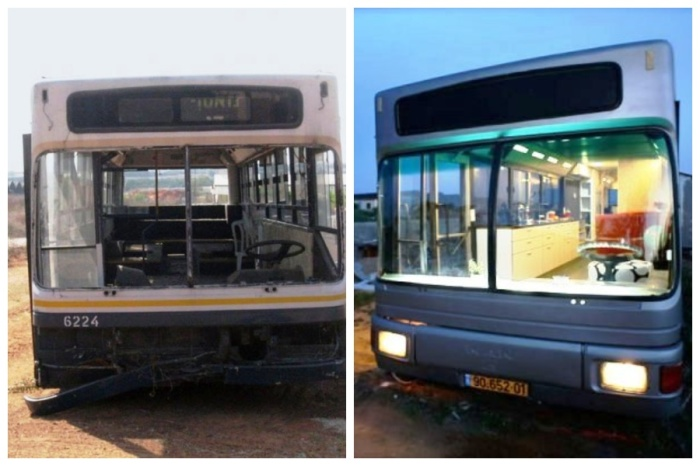 Списанный муниципальный автобус превратили в стильное жилье. | Фото: imagenesvariadasde.blogspot.com.