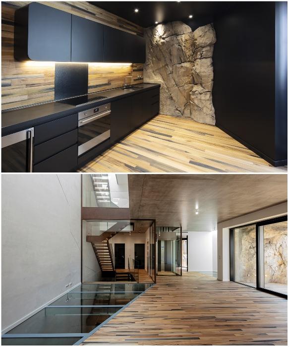 К услугам «пещерных» жителей будет гостиная, кухня, три спальни с роскошными ванными комнатами и открытой террасой на крыше (Villa Troglodyte, Монако). | Фото: lagazettedemonaco.com/ newatlas.com.