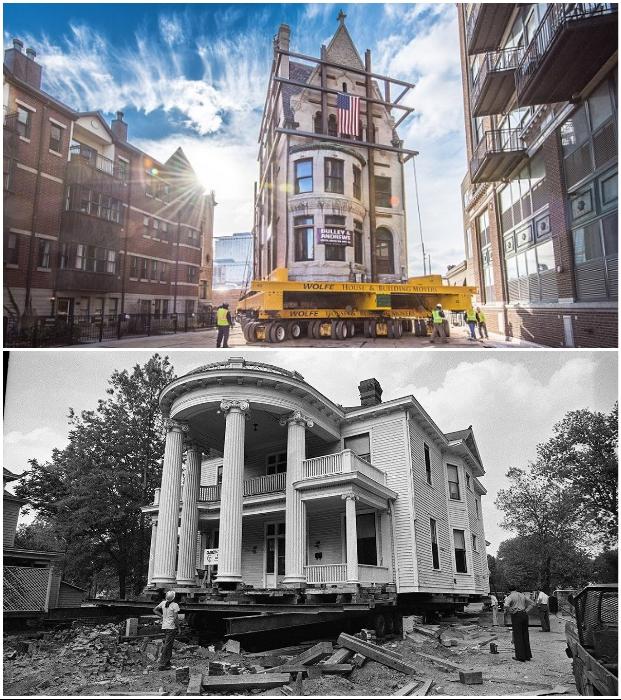 Зачастую, перевозка здания на новое место будет в разы дешевле строительства нового жилья.