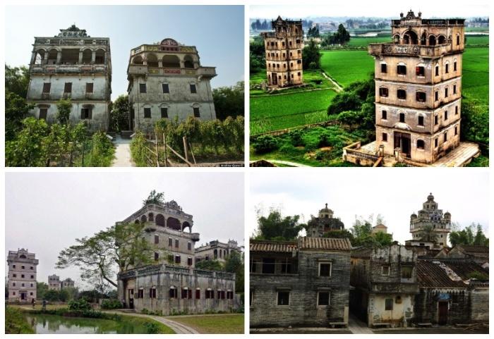 Дяолоу – это многоэтажные дома-крепости, расположенные в китайском уезде Кайпин в провинции Гуандун. | Фото: news.rambler.ru.