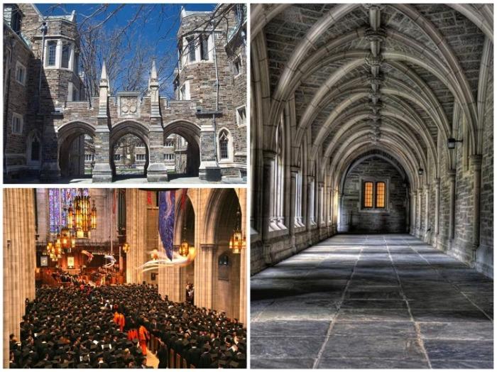 Принстонский университет – один из самых престижных и красивых учебных заведений мира (Princeton University, США). | Фото: miroland.com.