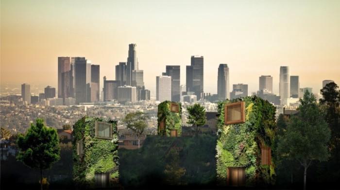 У жителей мегаполисов появится возможность жить в парковой зоне (концепт фонда OAS1S ™). | Фото: medium.com.
