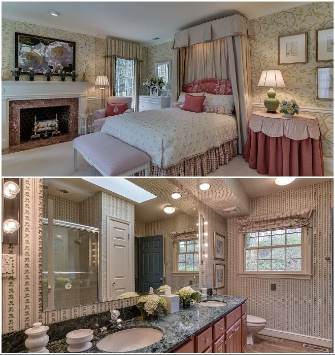 Возле каждой спальни обустроены ванные комнаты (Round Hill, Мэриленд). | Фото: wideopencountry.com.