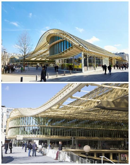 Торговый центр Ле-Аль полсе реконструкции (Les Halles). | Фото: tripadvisor.ru.