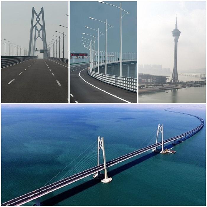 23 октября 2018 года состоится торжественная церемония открытия моста.