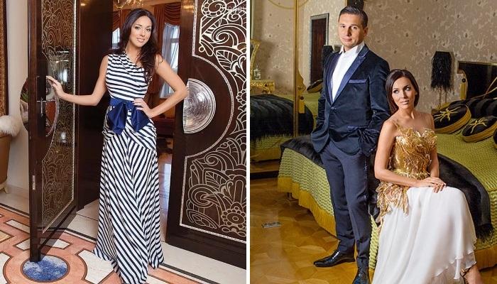 Алсу со своим супругом Яном в новых апартаментах на Рублевке. | Фото: blognews.am.
