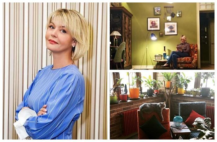 Юлия Меньшова показала интерьер своей квартиры.