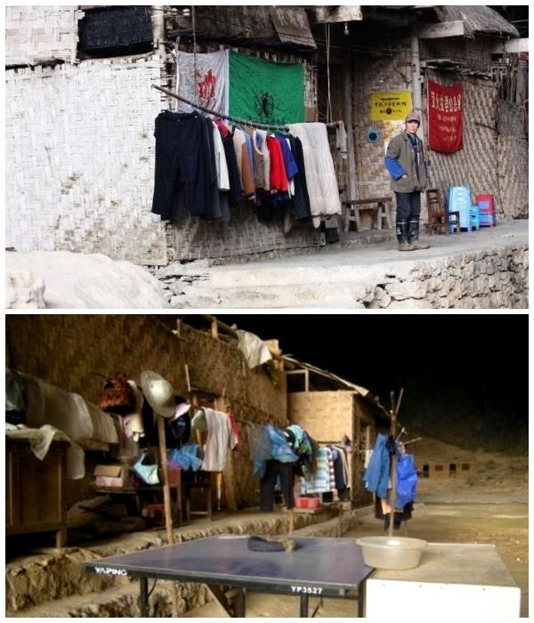 Предприимчивые жители умудрились открыть свой магазинчик (Чжундун, Китай). | Фото: youtube.com.