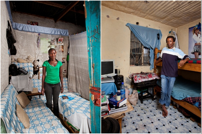 В Кении 45 университетов и комнаты в студенческих общежитиях выглядят так. | Фото: osvitanova.com.ua/ © Henny Boogert.
