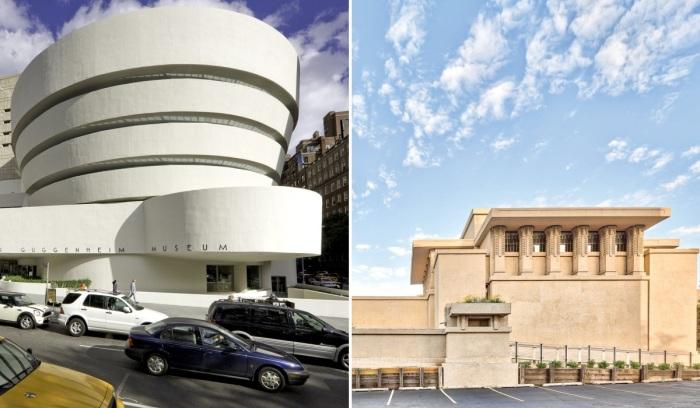 Гений архитектуры Френк Ллойд Райт более 70 лет создавал поистине шедевральные произведения. | Фото: kondratenko-design.blogspot.com.