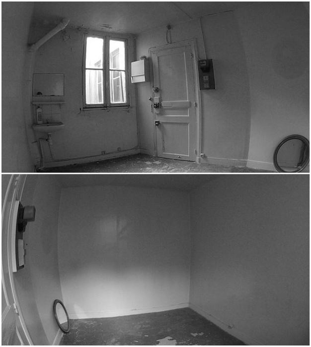 Крошечную комнату горничных нужно было преобразовать в уютное жилье для молодой девушки.