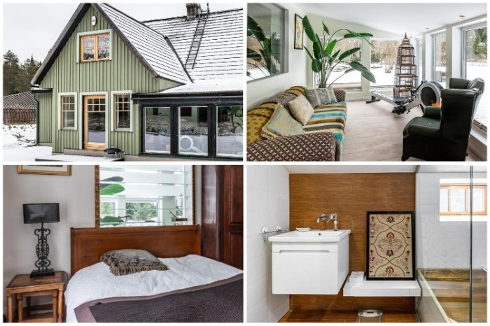 При желании даже 100 летнюю избушку можно превратить в современные комфортабельные апартаменты. | Фото: liveinternet.ru.