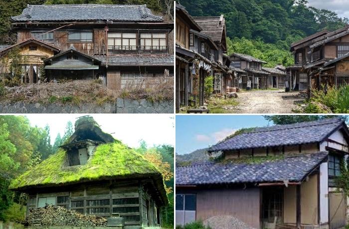 На восстановление старинных домов местные власти обещают новым владельцам выделить деньги (Япония).