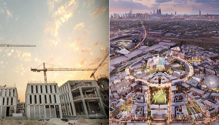 На строительство города будущего уже потрачено более 40 млрд долларов (District 2020, ОАЭ).