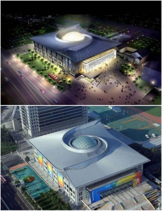 Дворец спорта Пекинского университета (Peking University , Китай). | Фото: a-education.kz.