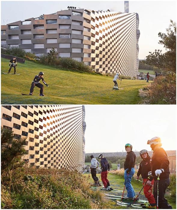 Любители активных видов спорта смогут наслаждаться занятиями, не выезжая из города (Amager Bakke, Копенгаген). © Hufton + Crow.