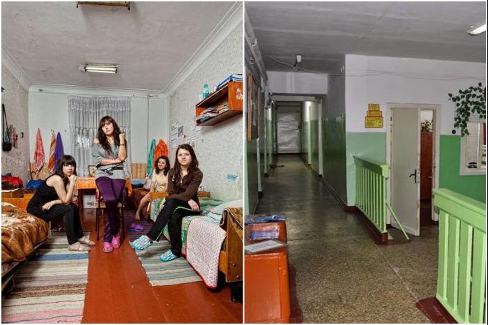 Это общежитие советских времен в Молдове, но студенты в нем обитают сейчас. | Фото: thedreamwithinpictures.com/ kp.md.