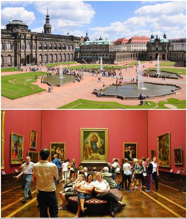 Шедевры, хранящиеся в музеях Государственного художественного собрания Дрездена (Германия). | Фото: planetofhotels.com/ dresden-gallery-guide.de.