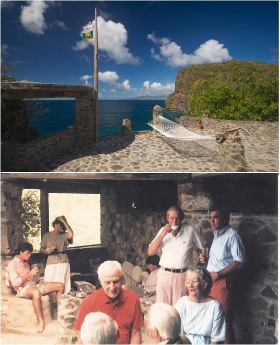 Moonhole превратился в прекрасное место отдыха и вечеринок творческого бомонда (о. Бекия, Карибское море). | Фото: moonholecompany.com.