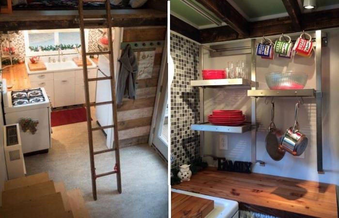Рациональное использование площади позволило установить всю необходимую технику и мебель (My Empty Nest»).   Фото: infodays.ru.