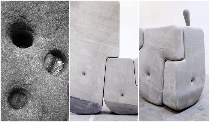 Балансировка центра тяжести, отверстия в нужном месте и специальная ручка помогут без труда справиться с камнем весом до 25 тонн. | Фото: viktorten.ru/ matterdesignstudio.com.