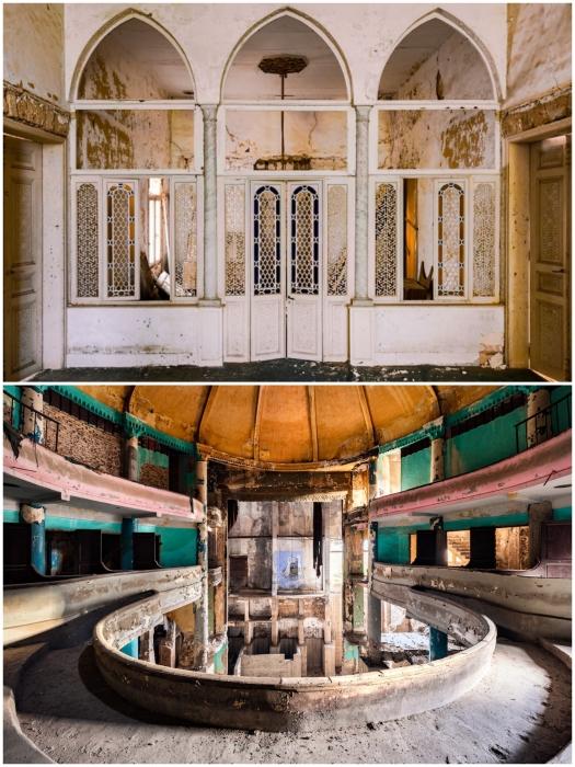 Война и время не пощадили ни театры, ни роскошные особняки, ни инженерные сооружения Ливана.   Фото: mymodernmet.com/ architecturaldigest.in, © James Kerwin.
