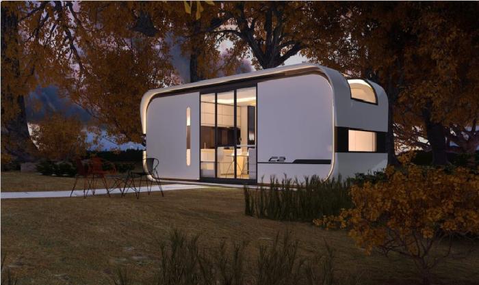 Компания «Studio Nestron» готова доставить смарт-дом «Cube Two» в любую точку планеты. | Фото:boredpanda.com.