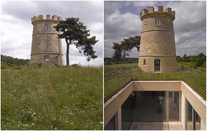 Колоритная «средневековая» башня превратилась в роскошный особняк («Round Tower», Великобритания). | Фото: asaratov.livejournal.com.