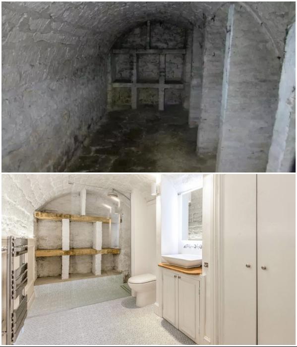 В жутком когда-то тупике оформлена современная ванная комната. | Фото: boredpanda.com/ © Jamie Barrow.
