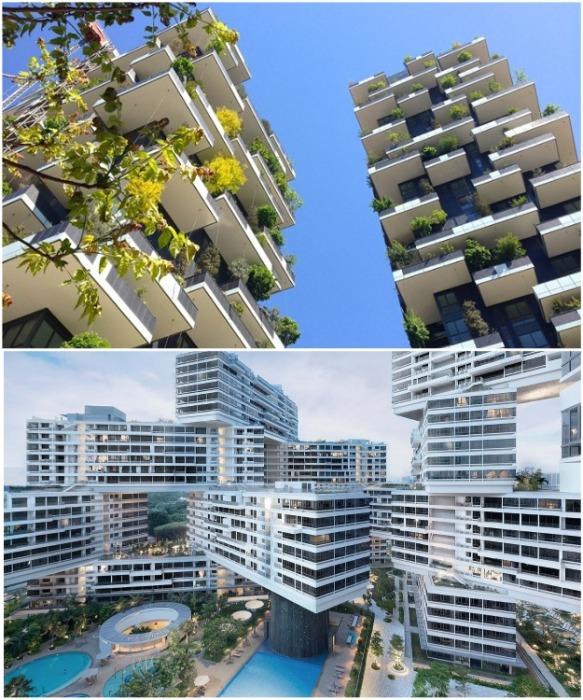 Современные жилые комплексы могут вызывать только восхищение и функционалом и эстетикой. | Фото: coolhouses.ru.