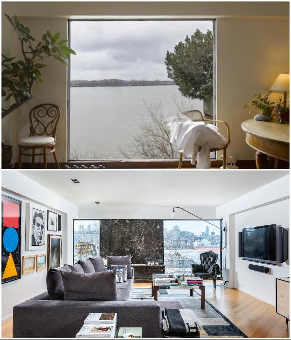 С каждой квартиры жилого комплекса «Habitat 67» открывается восхитительный вид на реку Св. Лаврентия (Монреаль, Канада). | Фото: dezeen.com/ idealista.com.