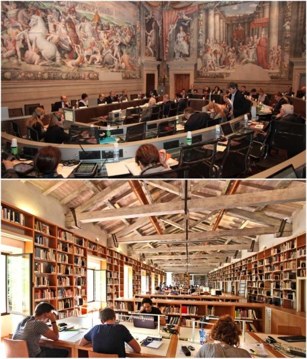 Университет может гордится мощной учебной базой (Universita di Bologna, Италия). | Фото: emigrant.guru.