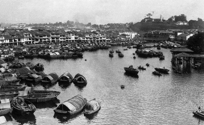 Так выглядел Сингапур в 1900 году.
