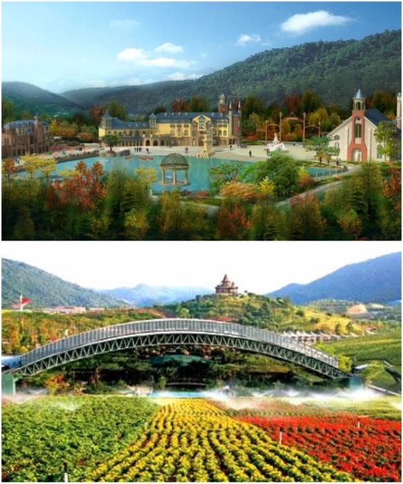 «Overseas Chinese Town East» является национальным демонстрационным районом эко-туризма (Шэньчжэнь, Китай). | Фото: chinatours.org.