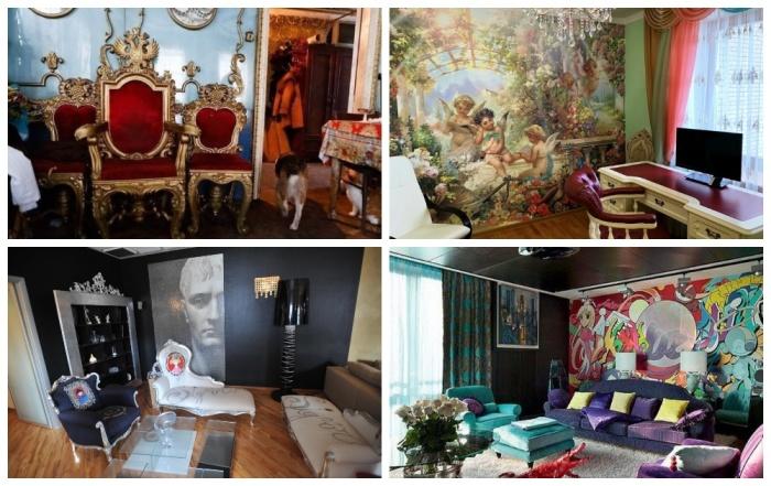 От простой безвкусицы и чрезмерного подражания к интересному стилю в оформления интерьеров. | Фото: pinterest.com.