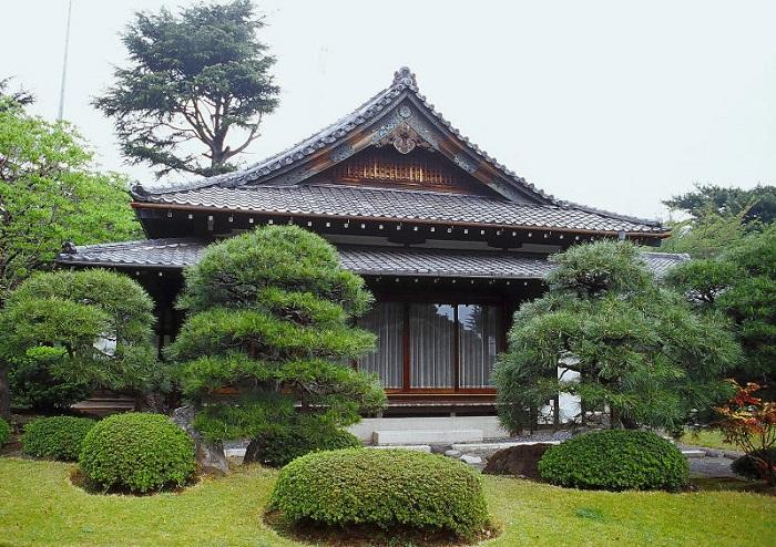 Так выглядит дом, построенный в японских традициях.