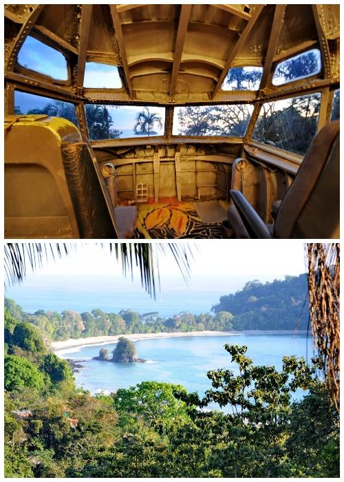 Фантастический вид из кабины пилота могут созерцать постояльцы президентского номера (Hotel Costa Verde). | Фото: itravel.livejournal.com.