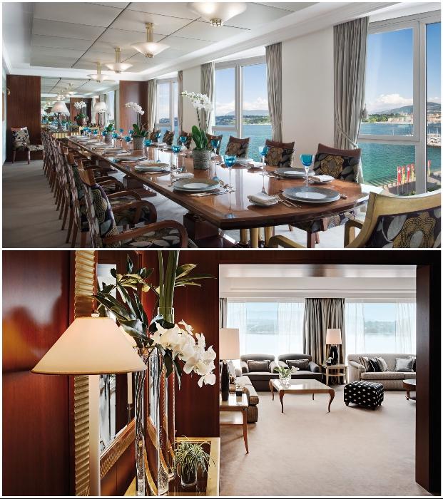 Royal President House рассчитан на VIP-персон (President Wilson, Женева).
