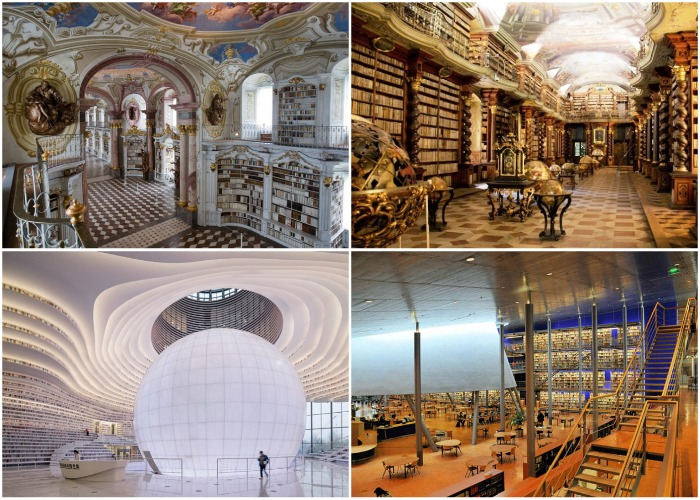 Библиотеки мира, которые являются самым невероятным архитектурным творением.