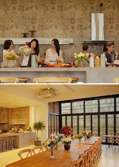 На такой большой кухне и обеденной зоне места хватит всем (Гуанчжоу, Китай). | Фото: whatsnew2day.com.