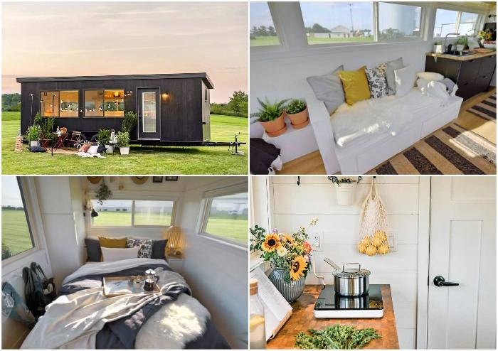 Мобильный домик станет прекрасным альтернативным жильем для молодой пары (Ikea Tiny Home).
