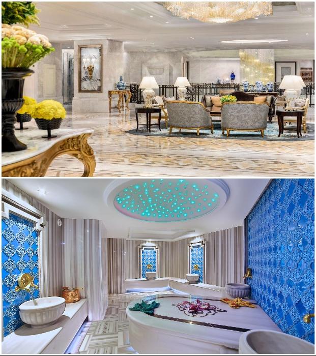 Shangri La Bosphorus Istanbul – один из самых дорогих отелей Турции.