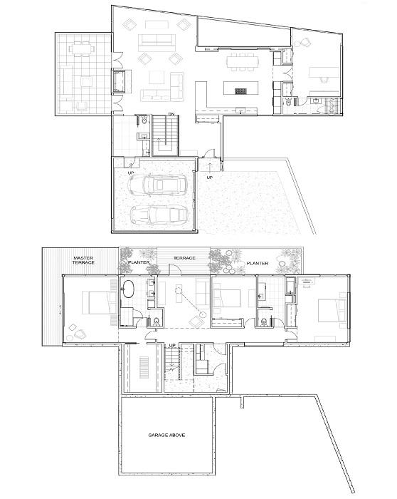 План-чертеж «Королевской резиденции» от американской компании William Kaven Architecture (Портленд, США).