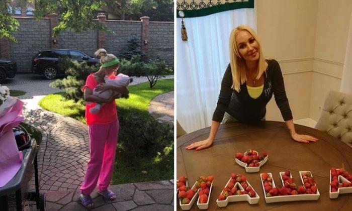13 августа 2018 у звездной пары родилась дочь Маша. | Фото: instagram.com.