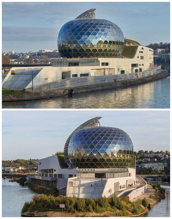 La Seine Musicale стал новой достопримечательностью Парижа. | Фото: his.ua.