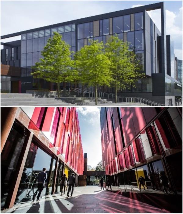 Не только старинные здания украшают территорию университета (University of Oxford , Великобритания). | Фото: educationindex.ru.